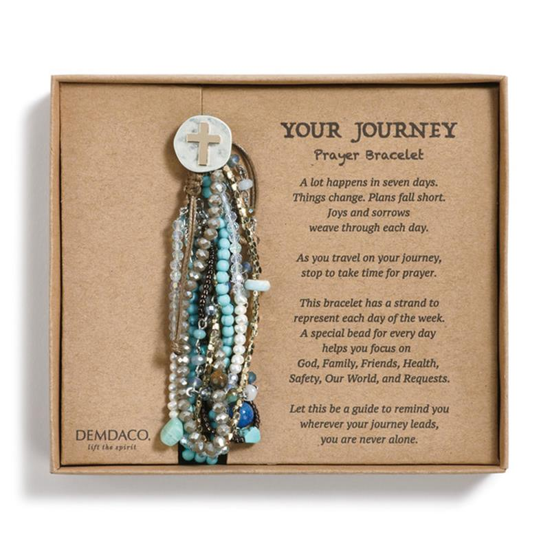 Your Journey Prayer Bracelet,Demdaco,1004000123