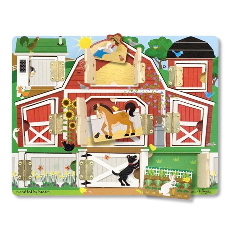 Hide & Seek Farm,Melissa & Doug,4592