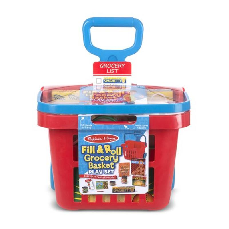 Fill & Roll Grocery Play Set,Melissa & Doug,4073