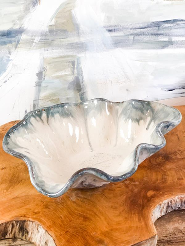 Accent Bowl,Etta B Pottery,AB MAGNOLIA