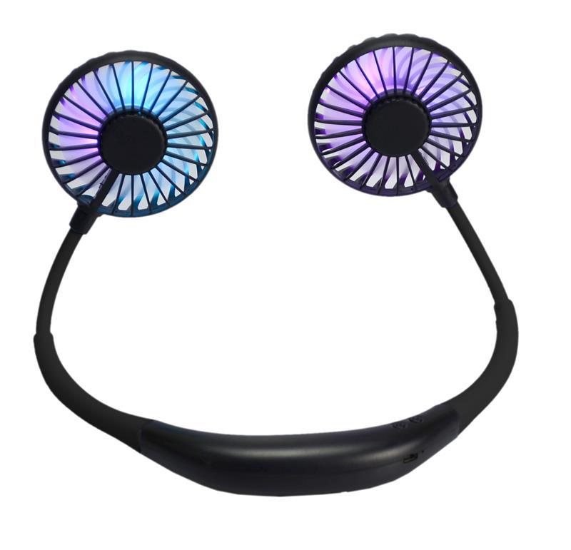 LED Neck Fan,WE-NF-BLACK