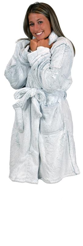 Heathered Velvet Robe,10603