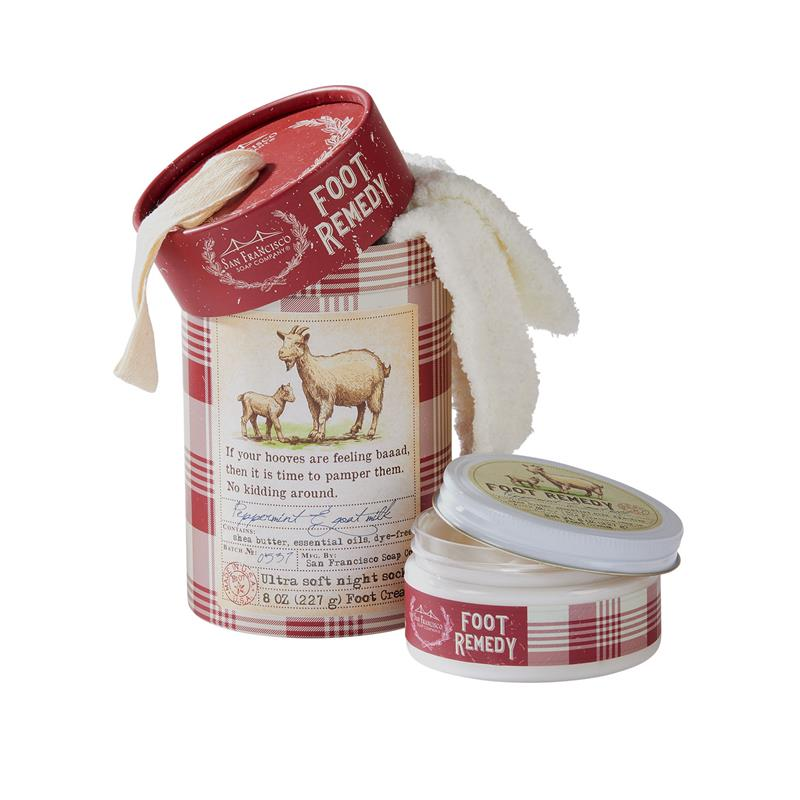 Foot Care Kit  Peppermint & Goat Milk,PGM7460