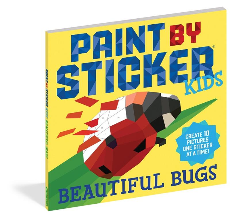 Paint By Sticker- Beautiful Bugs,100295
