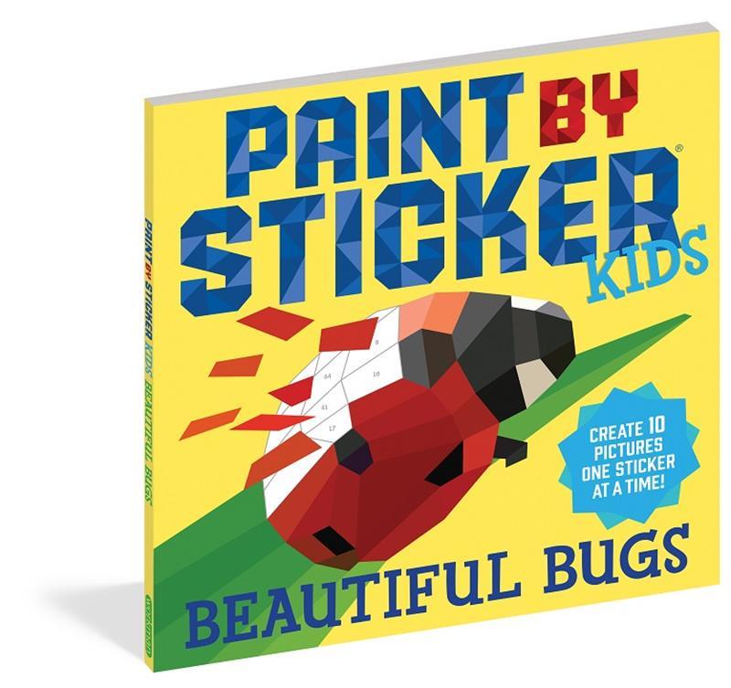 Paint By Sticker- Beautiful Bugs,100295